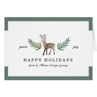 Loved Dearly Corporate Holiday Card