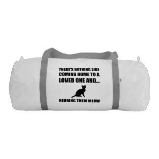Loved One Meow Gym Duffel Bag