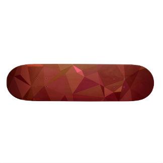 LoveGeo Abstract Geometric Design - Auburn Forest Skateboard Deck
