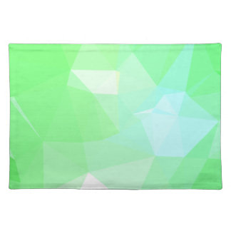 LoveGeo Abstract Geometric Design - Bright Sage Placemat