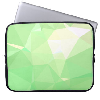 LoveGeo Abstract Geometric Design - Celadon Mark Laptop Sleeve