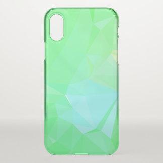 LoveGeo Abstract Geometric Design - Chameleon Jade iPhone X Case