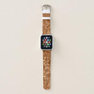 LoveGeo Abstract Geometric Design - Chocolate Tea Apple Watch Band