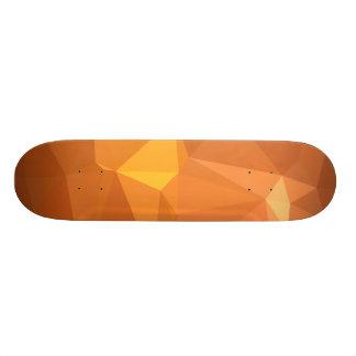 LoveGeo Abstract Geometric Design - Color Caramel 21.6 Cm Old School Skateboard Deck
