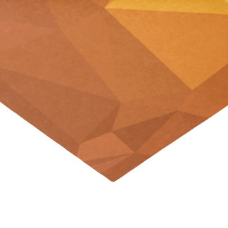 LoveGeo Abstract Geometric Design - Color Caramel Tissue Paper