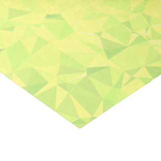 LoveGeo Abstract Geometric Design - Dandelion Lime Tissue Paper