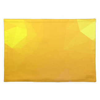 LoveGeo Abstract Geometric Design - Dawn Forsythia Placemat