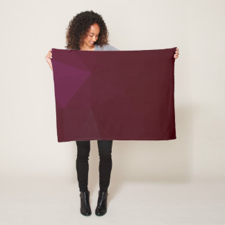 LoveGeo Abstract Geometric Design - Desert Night Fleece Blanket