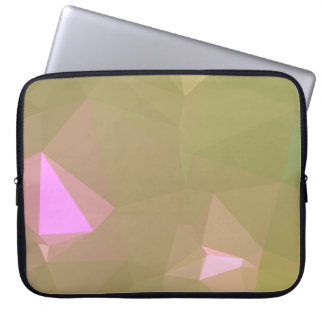 LoveGeo Abstract Geometric Design - Forest Earth Laptop Sleeve