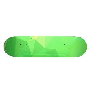 LoveGeo Abstract Geometric Design - Forest Lillies Skateboard Deck