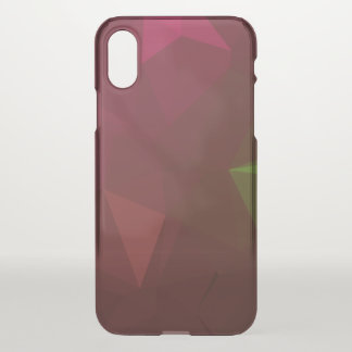 LoveGeo Abstract Geometric Design - Forest Lost iPhone X Case