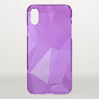LoveGeo Abstract Geometric Design - Grape Score iPhone X Case