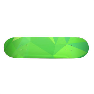 LoveGeo Abstract Geometric Design - Happy Forest Skateboard