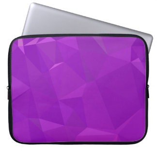 LoveGeo Abstract Geometric Design - Hera Violet Laptop Sleeve