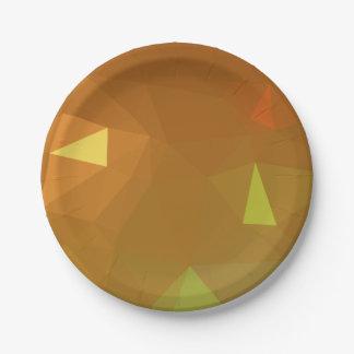 LoveGeo Abstract Geometric Design - Kites Soar Paper Plate