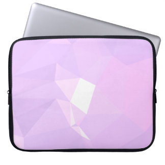 LoveGeo Abstract Geometric Design - Lavender Belle Laptop Sleeve