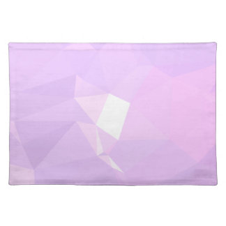 LoveGeo Abstract Geometric Design - Lavender Belle Placemat
