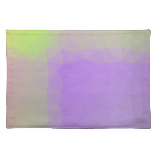 LoveGeo Abstract Geometric Design - Lavender Scent Placemat
