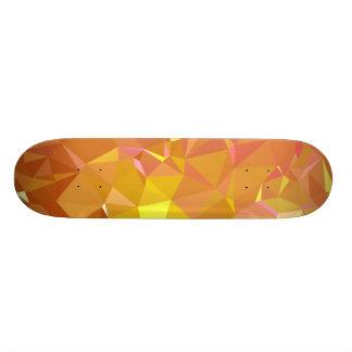 LoveGeo Abstract Geometric Design - Light October Custom Skate Board