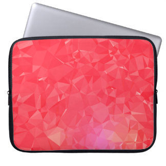 LoveGeo Abstract Geometric Design - Magenta French Laptop Sleeve