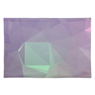 LoveGeo Abstract Geometric Design - Mauve Allure Placemat