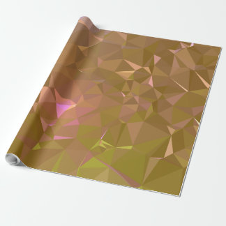 LoveGeo Abstract Geometric Design - Mocha Chill Wrapping Paper