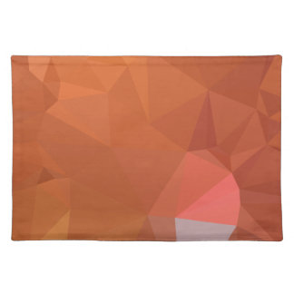 LoveGeo Abstract Geometric Design - Mountain Sun Placemat