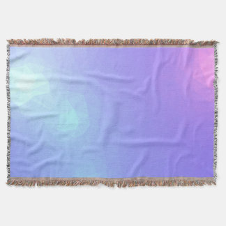 LoveGeo Abstract Geometric Design - Orchid Angels Throw Blanket