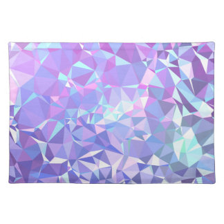 LoveGeo Abstract Geometric Design - Orchid Skies Placemat