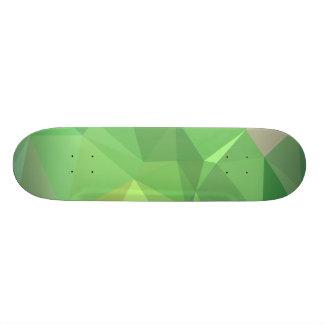 LoveGeo Abstract Geometric Design - Pickle Lemon 19.7 Cm Skateboard Deck