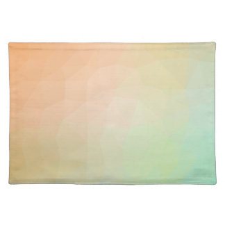 LoveGeo Abstract Geometric Design - Powder Pastel Placemat