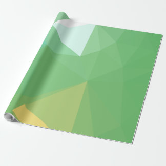 LoveGeo Abstract Geometric Design - Rain Over Wrapping Paper
