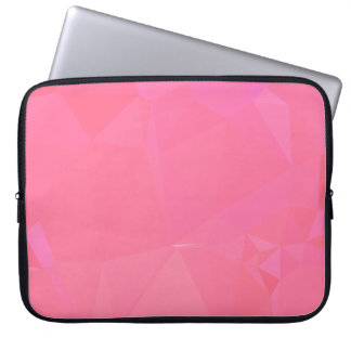 LoveGeo Abstract Geometric Design - Rose Ponder Laptop Sleeve