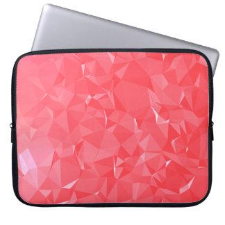 LoveGeo Abstract Geometric Design - Strawberry Vie Laptop Sleeve