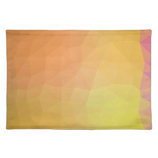LoveGeo Abstract Geometric Design - Sunny Fringe Placemat