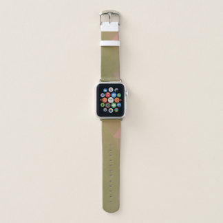 LoveGeo Abstract Geometric Design - Turtle Olive Apple Watch Band