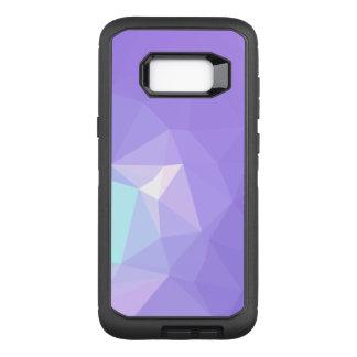 LoveGeo Abstract Geometric Design - Wisteria Iris OtterBox Defender Samsung Galaxy S8+ Case
