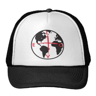 LoveGlobe316 - white background Cap