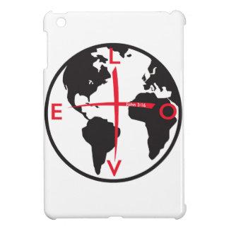 LoveGlobe316 - white background Cover For The iPad Mini