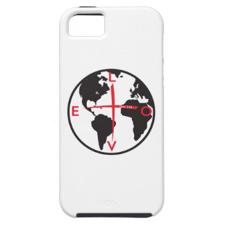 LoveGlobe316 - white background iPhone 5 Cover