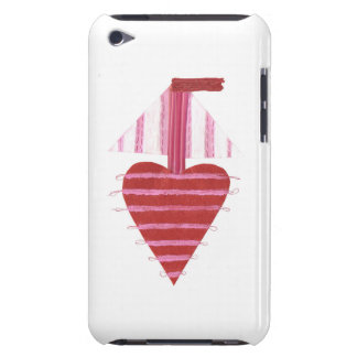 Loveheart Boat 4th Generation I-Pod Touch Case