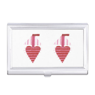 Loveheart Boat Business Card Holder