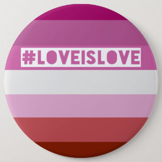 #LoveIsLove hashtag badge