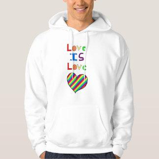 loveislove hoodie