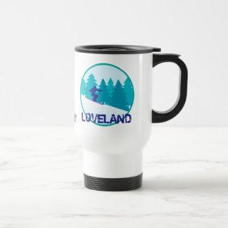 Loveland Ski Circle Personalized Travel Mug