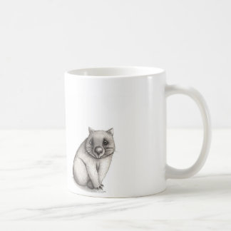 Lovelorn Wombats Basic White Mug