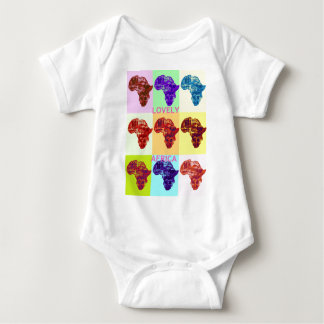 LOVELY AFRICA BABY BODYSUIT