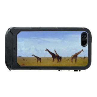 Lovely Africa wild animal design Safari summertime Incipio ATLAS ID™ iPhone 5 Case
