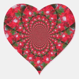 Lovely Alien Crimson Heart Sticker
