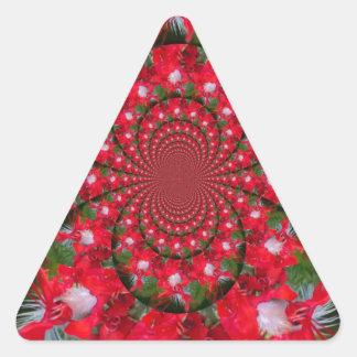 Lovely Alien Crimson Stickers